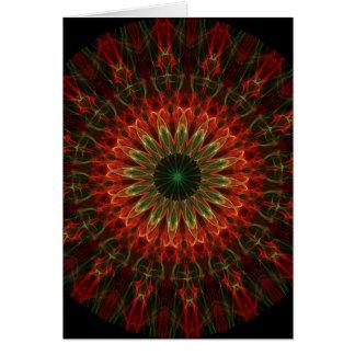 Kaleidoscope Fractal 136 Card