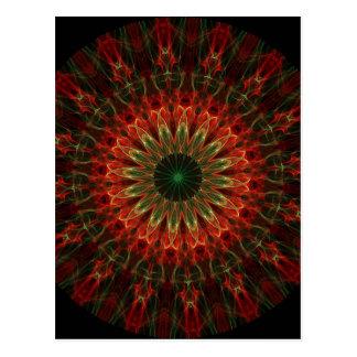 Kaleidoscope Fractal 136 Postcard
