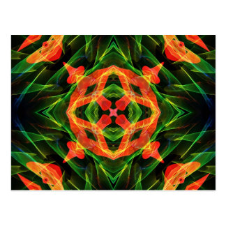 Kaleidoscope Fractal 141 Postcard