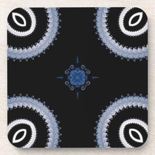 Kaleidoscope Fractal 14 Coasters
