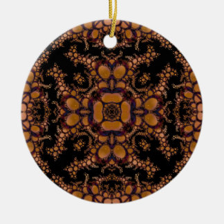 Kaleidoscope Fractal 157 Ceramic Ornament