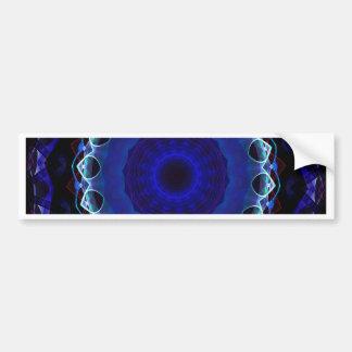 Kaleidoscope Fractal 162 Bumper Sticker