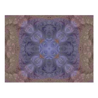 Kaleidoscope Fractal 217 Postcard