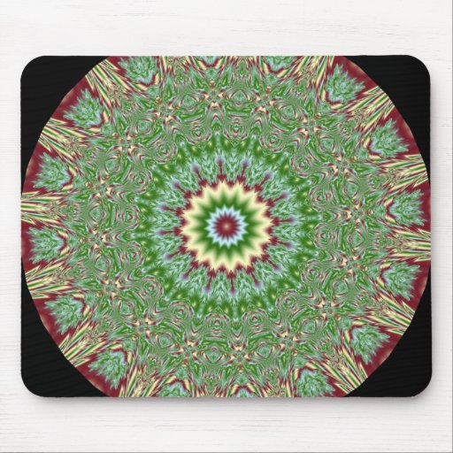 Kaleidoscope Fractal 226 Mouse Pad