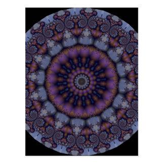Kaleidoscope Fractal 261 Postcard