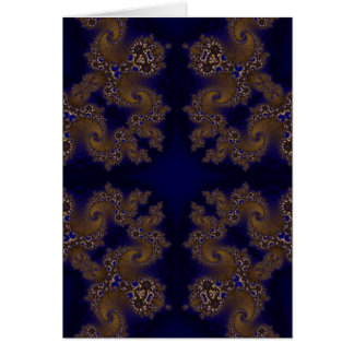 Kaleidoscope Fractal 266 Card