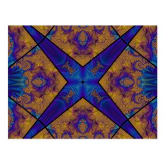 Kaleidoscope Fractal 290 Postcard