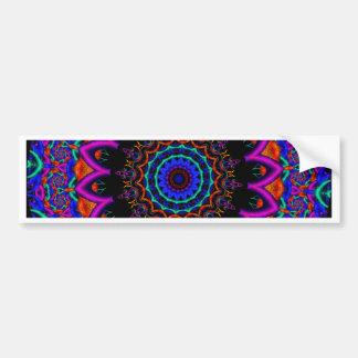 Kaleidoscope Fractal 313 Bumper Sticker