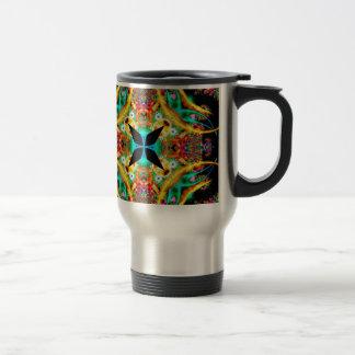 Kaleidoscope Fractal 314 Travel Mug