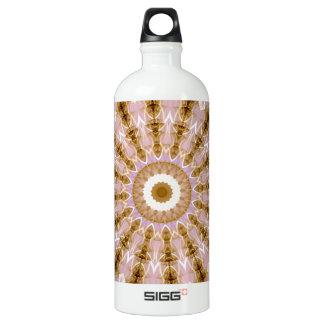 Kaleidoscope Fractal 321 Aluminum Water Bottle