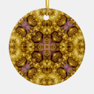 Kaleidoscope Fractal 322 Ceramic Ornament