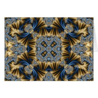 Kaleidoscope Fractal 336 Card