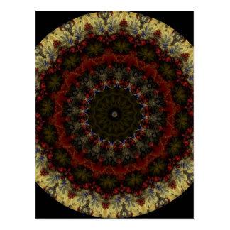 Kaleidoscope Fractal 365 Postcard