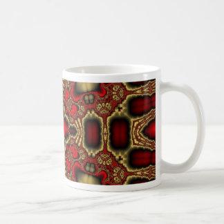 Kaleidoscope Fractal 411 Mugs