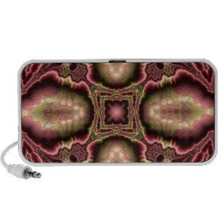 Kaleidoscope Fractal 415 Travelling Speakers