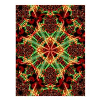 Kaleidoscope Fractal 434 Postcard