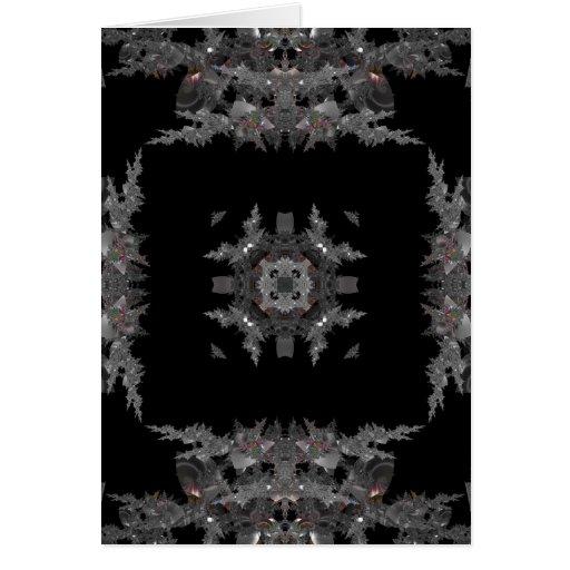Kaleidoscope Fractal 451 Card