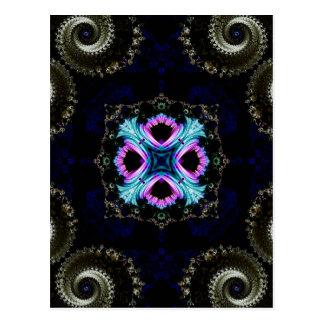 Kaleidoscope Fractal 550 Post Card