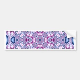 Kaleidoscope Fractal 566 Bumper Sticker