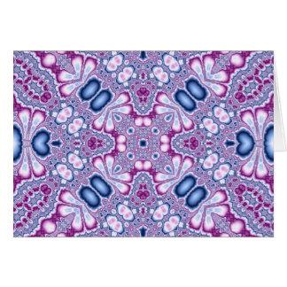 Kaleidoscope Fractal 566 Card