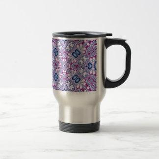 Kaleidoscope Fractal 566 Travel Mug
