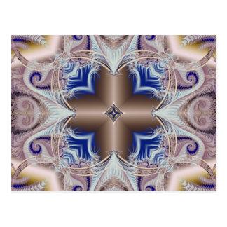 Kaleidoscope Fractal 597 Postcard