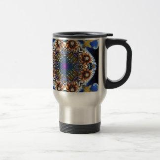 Kaleidoscope Fractal 645 Travel Mug