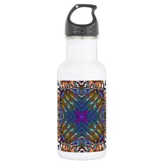 Kaleidoscope Fractal 645 Water Bottle