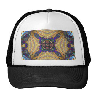 Kaleidoscope Fractal 648 Trucker Hat