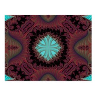 Kaleidoscope Fractal 659 Postcard
