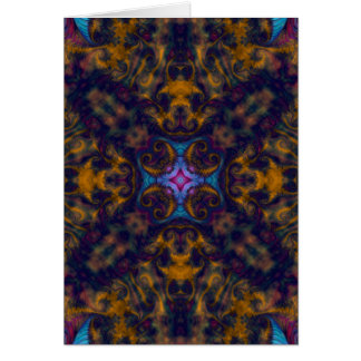 Kaleidoscope Fractal 669 Card