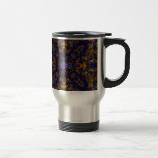 Kaleidoscope Fractal 669 Travel Mug