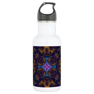 Kaleidoscope Fractal 669 Water Bottle