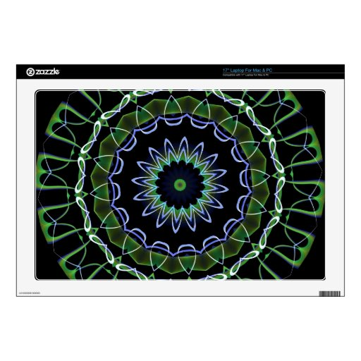 Kaleidoscope Fractal 92 Laptop Decals
