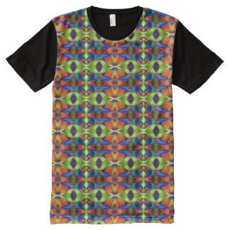 Kaleidoscope Fractal Pattern 03 + your ideas All-Over-Print Shirt