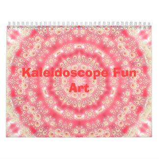 Kaleidoscope Fun Art Calendar