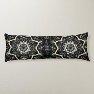 Kaleidoscope Gothic Body Pillow