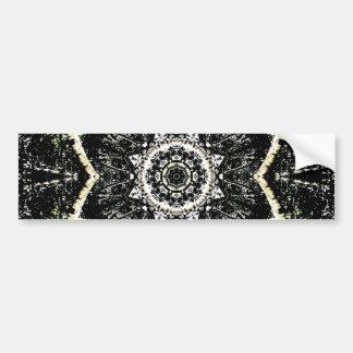 Kaleidoscope Gothic Bumper Sticker