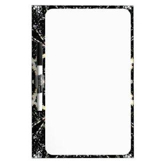 Kaleidoscope Gothic Dry Erase White Board