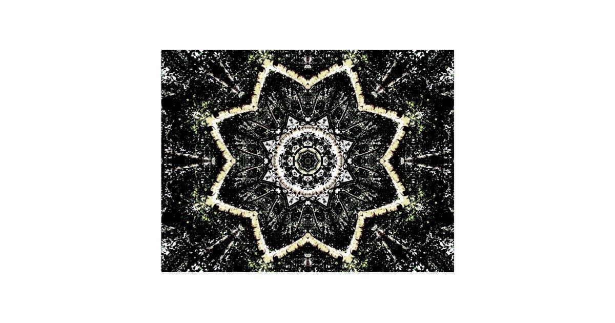 Kaleidoscope Gothic Postcard | Zazzle.com