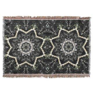 Kaleidoscope Gothic Throw Blanket