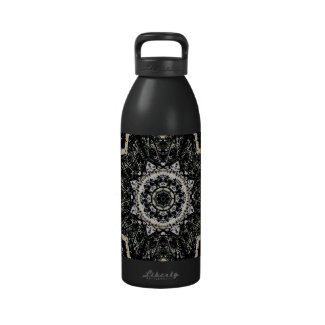 Kaleidoscope Gothic Water Bottle