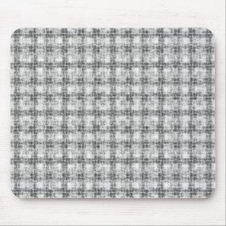 Kaleidoscope gray mouse pad