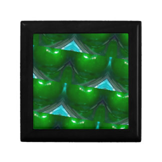 kaleidoscope Green apple's.jpg Jewelry Box