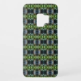 Kaleidoscope green Case-Mate samsung galaxy s9 case