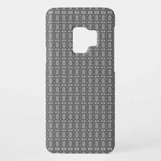 Kaleidoscope grey Case-Mate samsung galaxy s9 case