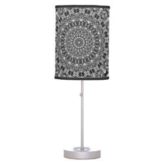 Kaleidoscope grey Star Table Lamp