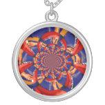 kaleidoscope hand playing red keyboard orange blue custom jewelry
