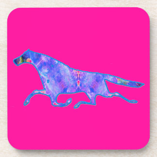 Kaleidoscope Horse design image Drink Coaster