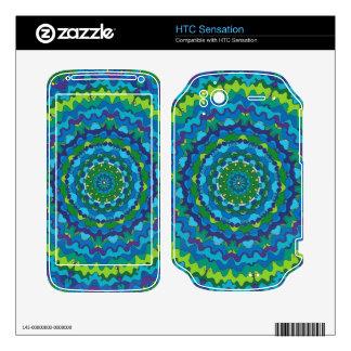Kaleidoscope HTC Sensation Zazzle Skin HTC Sensation Decals